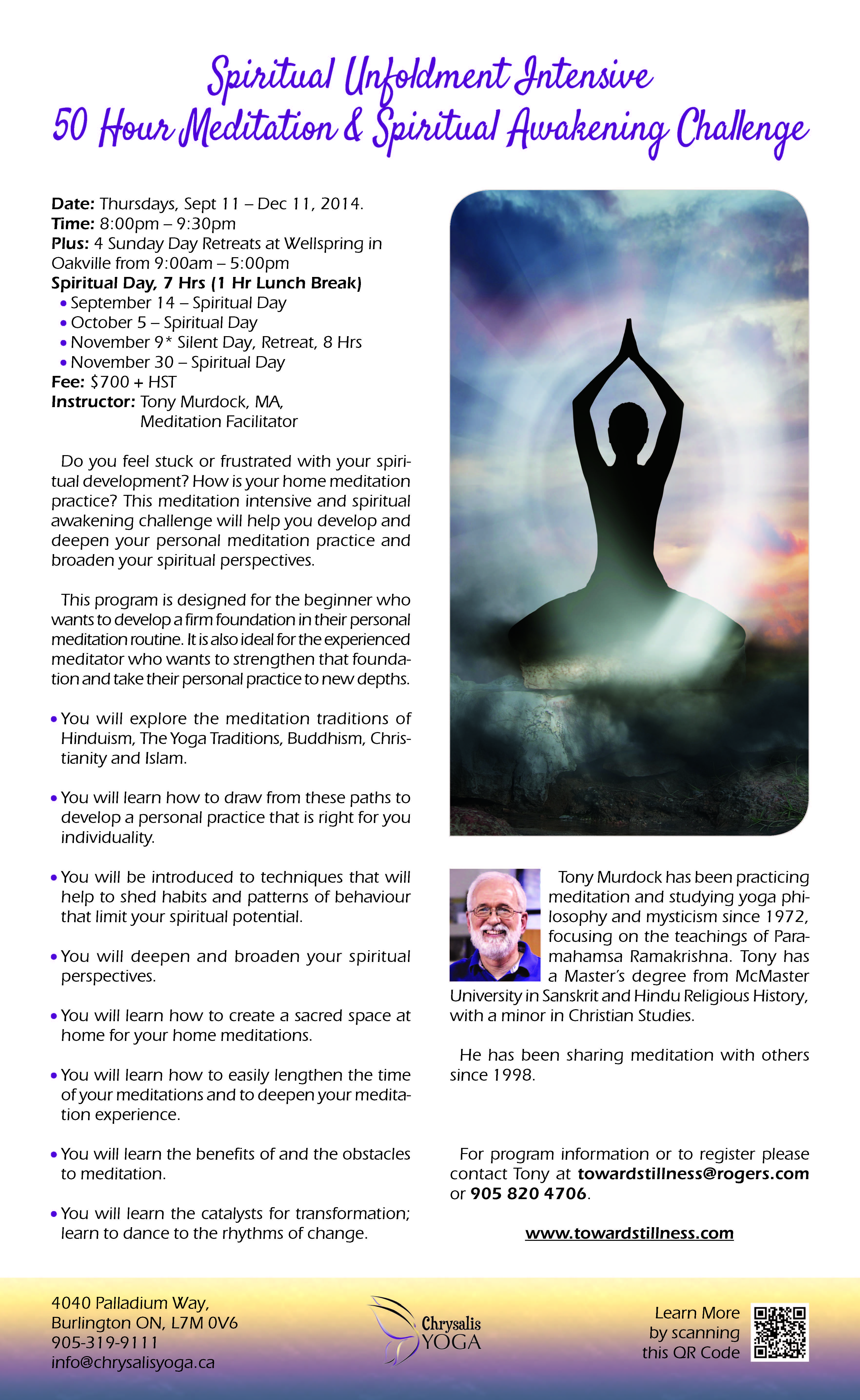 Spiritual Unfoldment Intensive_071714
